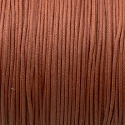 Fil Coton 1mm Marron (x 2m)
