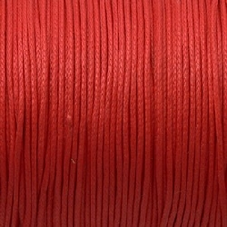 Fil Coton 1mm Rouge (x 2m)