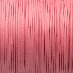 Fil Coton 1mm Rose Dragée (x 2m)